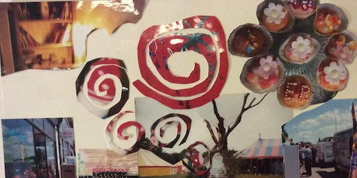 Recycled Art Workshops; Make Gift Pic for Xmas/ Still Life Draw or Mix Media Collage