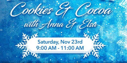 Frozen 2- Cookies and Cocoa with Anna and Elsa