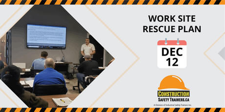 Work Site Rescue Plan Workshop tickets