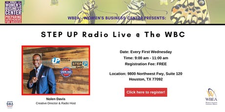 Step UP Radio Live @ the WBC (First Wednesdays) tickets