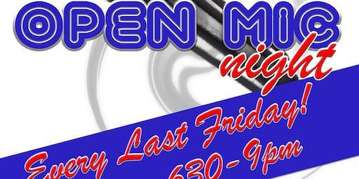 Open Mic/Karaoke Night!