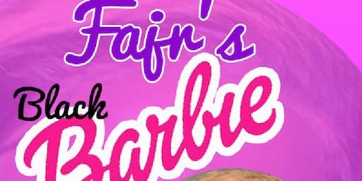 Faj Black Barbie Party Bus Rsvp