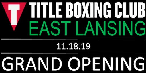 TITLE Boxing Club East Lansing GRAND OPENING