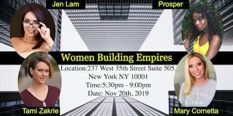 Women Building Empires tickets