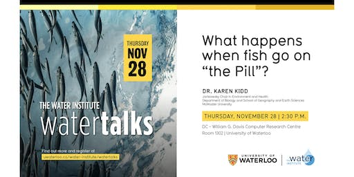 "WaterTalk: What happens when fish go on ""the Pill""?"