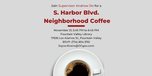 S. Harbor Blvd. Neighborhood Coffee with Supervisor Andrew Do