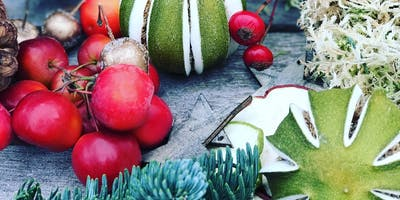 Festive Christmas wreath workshops with Louise at Creative Flora