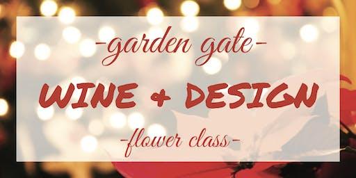 Wine & Design - Holiday Door Hangers