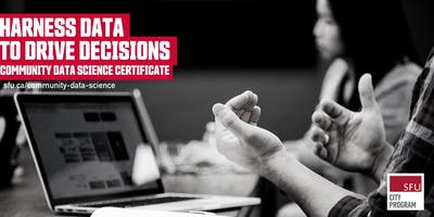 Community Data Science Certificate Info Session (Online) — May 21, 2020