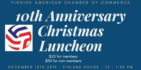 FACC´ s 10th Anniversary Christmas Luncheon