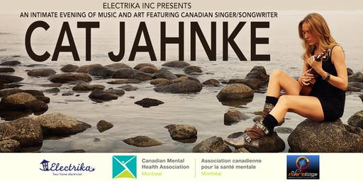 An Evening of Music with Cat Jahnke in Support of Mental Health
