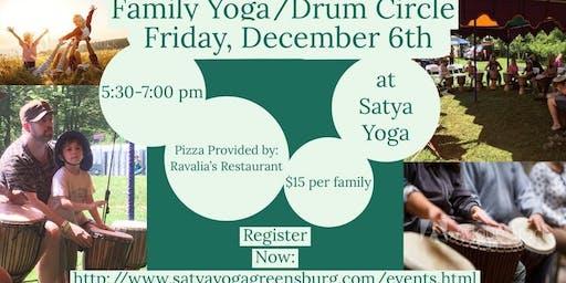 Family Yoga/Drum Circle