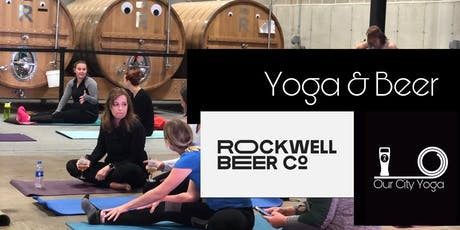Yoga and Beer at Rockwell Beer Co. tickets