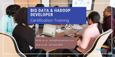 Big data & Hadoop Developer 4 Days Classroom Training in Dawson Creek, BC