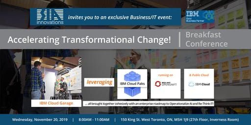 Conference - IBM Garage and Cloud Paks | Roadmap to Business Agility