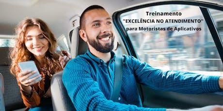 Treinamento - Excelência no Atendimento (Motoristas de Aplicativos) ingressos