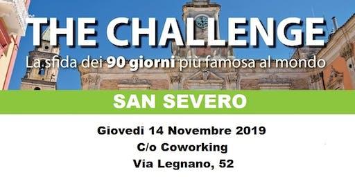 THE CHALLENGE - SAN SEVERO -
