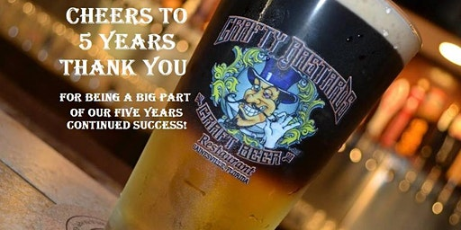 Cheers to 5 Years at Crafty's