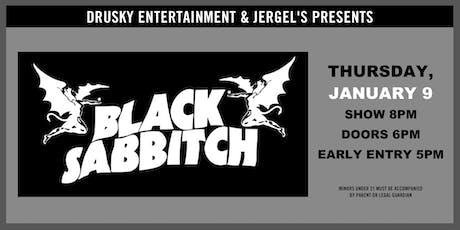 Black Sabbitch tickets