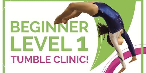 Level 1 Tumble Clinic