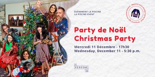 Party de Noël | La Piscine