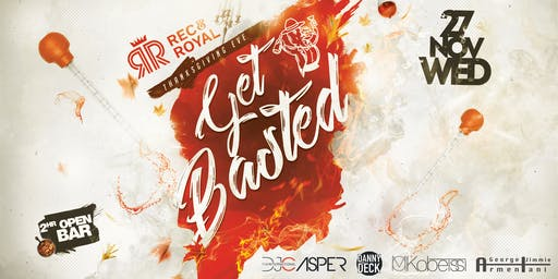 Get Basted!   Thanksgiving Eve Party   Open Bar