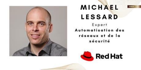 JIQ 2019 : Rencontrez l'expert de Red Hat billets
