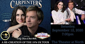 Carpenters Tribute Concert: A Re-creation of the 1976...