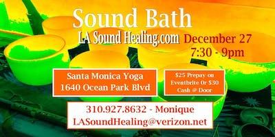 Sound Bath - Last Fridays of the Month