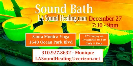Sound Bath - Last Fridays of the Month tickets