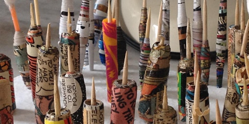Paper Bead Making - Drop In and Create - Free Workshop