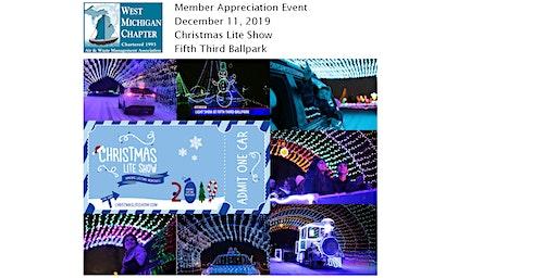 The Christmas Lite Show Member Appreciation Event