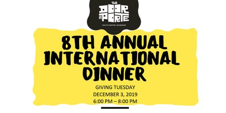 8th Annual International Dinner tickets