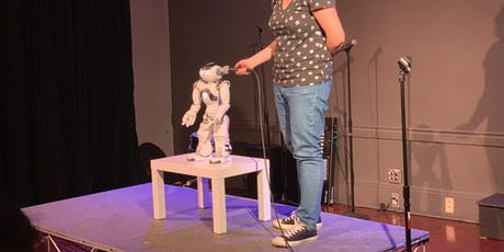 Singu-hilarity: Stand-up Comedy Show Headlined by a Robot tickets