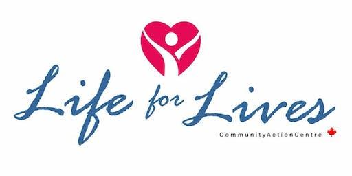 Life for Lives Fundraising Dinner
