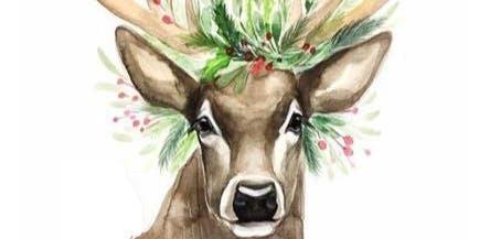 Ladies Paint Night - Christmas Deer