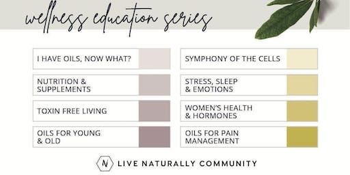 Essential Oils Wellness Education Series Nov-Dec 2019
