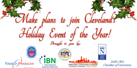 10th Annual  International Chambers Holiday Luncheon Friday, Dec. 6th, 2019 tickets