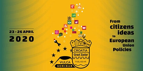 Vulca Seminar 2020 - From citizens ideas to European policies tickets