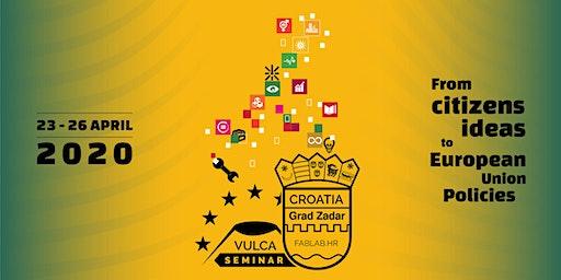 Vulca Seminar 2020 - From citizens ideas to European policies
