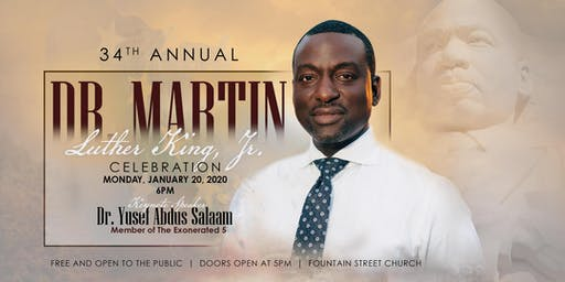 34th Annual Dr. Martin Luther King, Jr. Celebration