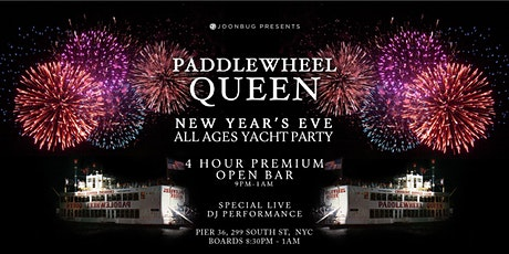 Paddle Wheel Queen ALL AGES New Years Eve 2020 Party tickets
