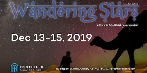 Wandering Stars- a foothills worship arts original presentation
