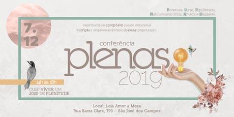 Conferência PLENAS ingressos