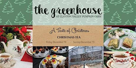 A Taste of Christmas Holiday Tea tickets