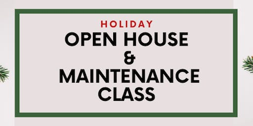 Holiday  Maintenance Class