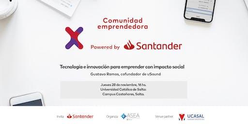 Comunidad Santander X | 28/11 | IMPACTO SOCIAL | SALTA