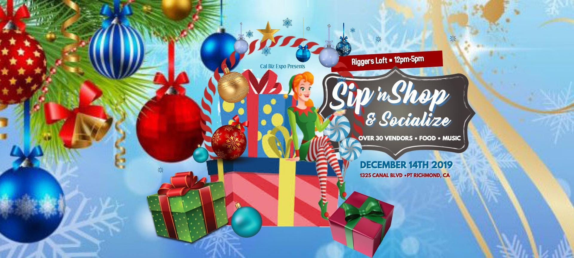 Sip 'N Shop and Socialize