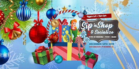 Sip 'N Shop (Local Wine, Crafts, Handmade Products) tickets