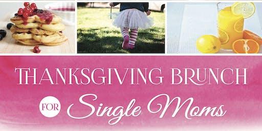 Thanksgiving Brunch for Single Moms & Kids